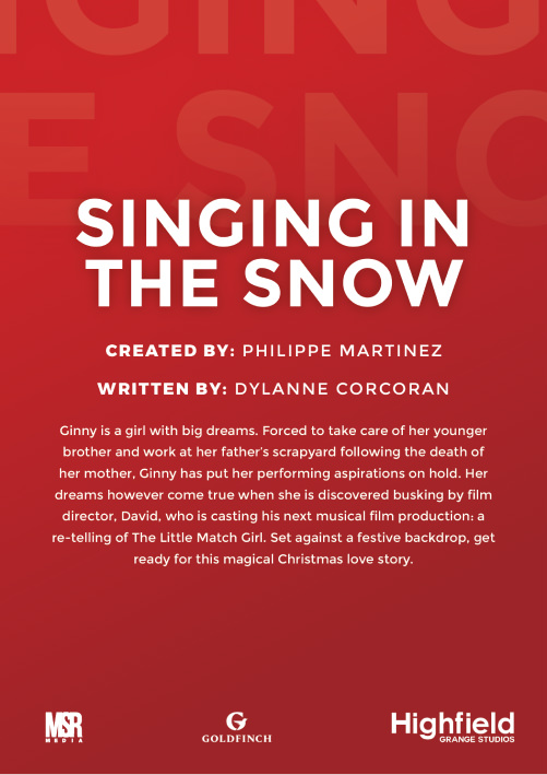 singing in the snow poster